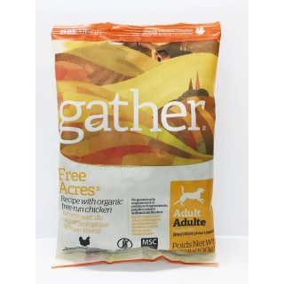 Sample Pack - Gather Free Acres with Organic Chicken 100g Adult Dog Dry Food