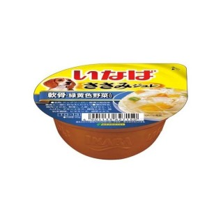 Inaba Dog Jelly Chicken with Cartilage 65g Dog Wet Food TD13