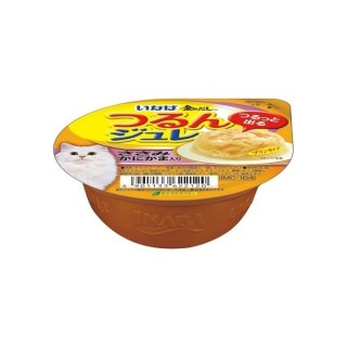Inaba Soft Jelly Chicken with Crab Stick 65g Cat Wet Food IMC164