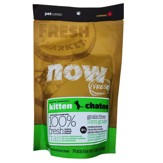 Sample Pack - Now Fresh Grain-Free Kitten 0.23kg Cat Dry Food