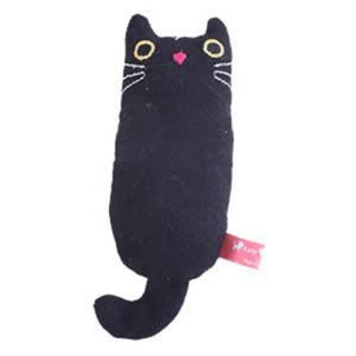 Amy Carol Fat Cat Series BLACK with Catnip Cat Toy