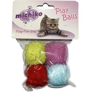 Michiko Softy Balls Cat Toy
