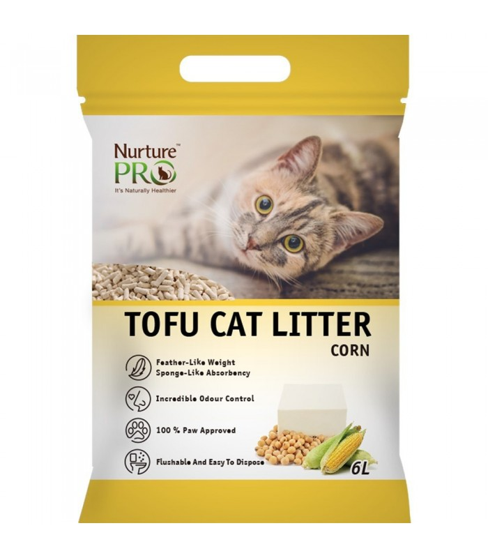Flushable Non Tracking Cat Litter