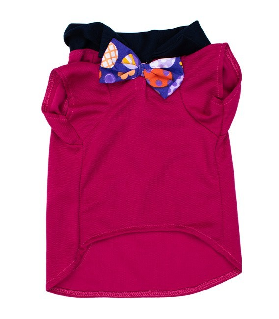 Pawsh Couture Eli Fuchsia Pet Polo Shirt