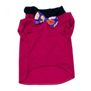 Pawsh Couture Eli Fuchsia Pet Polo Shirt