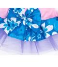 Pawsh Couture Tri Layer Tropics Blue Pet Dress