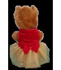 Pawsh Couture Red & Gold Pet Tutu Dress