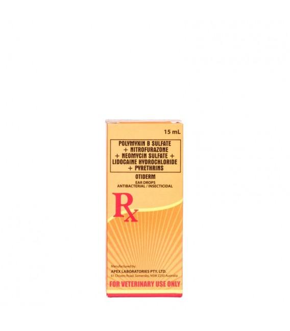 Otiderm Antibacterial Ear Drops 15ml