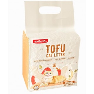 Love Sand Tofu 6L Flushable Clumping Cat Litter - Original