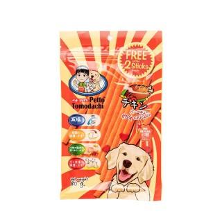Petto Tomodachi Dog Sticks BBQ CHICKEN 80g Dog Treats