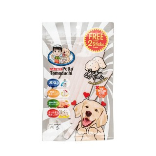 Petto Tomodachi Dog Sticks COOKIES & CREAM 80g Dog Treats