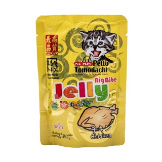 Petto Tomodachi Jelly Big Bite CHICKEN 80g Cat Wet Food