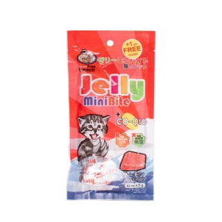 Petto Tomodachi Mini Bite SALMON 5g x 10 Cat Food Toppers/Treats