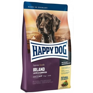 Happy Dog Supreme Sensible Ireland Salmon & Rabbit Dog Dry Food