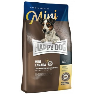 Happy Dog Supreme Sensible Canada Salmon, Rabbit & Lamb Grain-Free Dog Dry Food