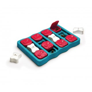 Nina Ottosson Brick Interactive Dog Toy - Level 2