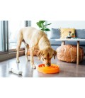 Outward Hound Orange Swirl Fun Feeder Interactive Dog Bowl