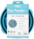 Outward Hound Teal Drop Fun Feeder Interactive Dog Bowl