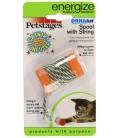 Petstages OrkaKat Catnip Spool Cat Toy