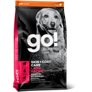 Go! Solutions Skin + Coat Care Lamb Recipe Dog Dry Food