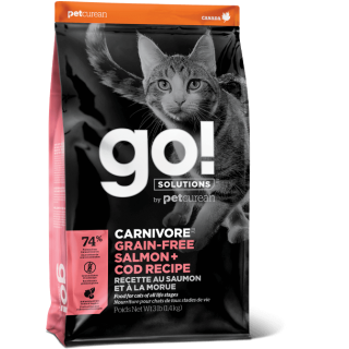 Go! Solutions Carnivore Salmon + Cod Dry Cat Food