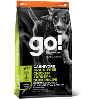 Go! Solutions Carnivore Chicken, Turkey & Duck Recipe Puppy Dry Food
