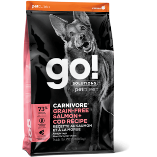 Go! Solutions Carnivore Salmon & Cod Recipe Dog Dry Food