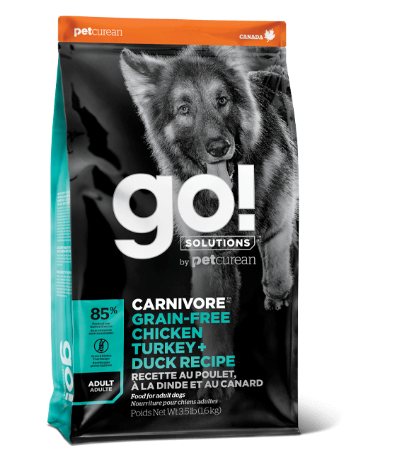 Go! Solutions Carnivore Chicken, Turkey & Duck Recipe Dog Dry Food