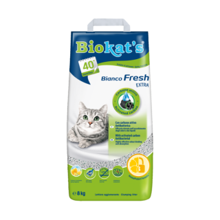 Biokats Bianco Fresh Extra 8kg Cat Litter