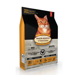 Oven Baked Tradition and Weight Management Senior Cat Dry Food