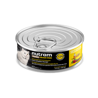 Nutram T24 Total Grain Free Trout and Salmon 156g Cat Wet Food