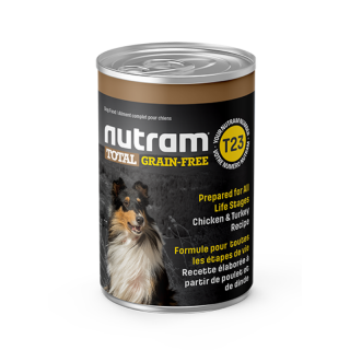 Nutram T23 Total Grain Free Chicken and Turkey Recipe 369g Dog Wet Food