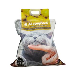 Meowtech Ultra Premium Lemon Scent CAD5x 9.6kg Cat Litter