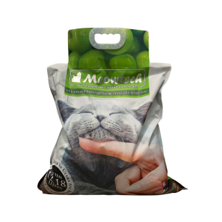 Meowtech Ultra Premium Green Apple Scent CAD5x 9.6kg Cat Litter