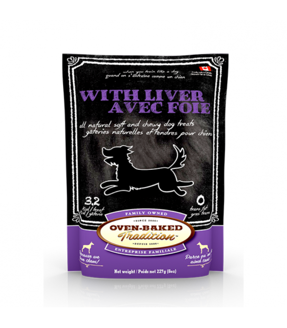 Oven Baked Tradition Liver for All Breeds 227g Dog Treat