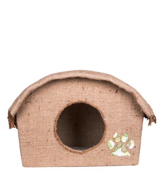 Cocogreen Natural Kitty Cottage-Dome Cat House