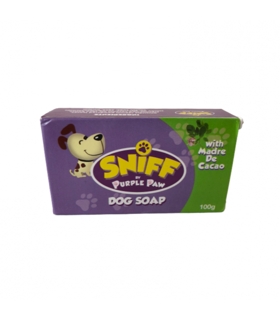 Sniff by Purple Paw with Madre de Cacao 100g Dog Soap