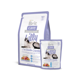 Brit Care Lilly I've Sensitive Digestion Hypoallergenic Lamb and Salmon Cat Dry Food