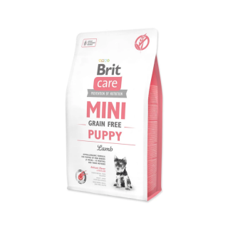 Brit Care Mini Grain Free Hypoallergenic Lamb for Small Breed Puppy Dry Food