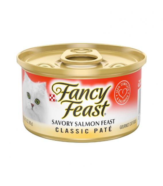 Fancy Feast Classic Savory Salmon 85g Cat Wet Food