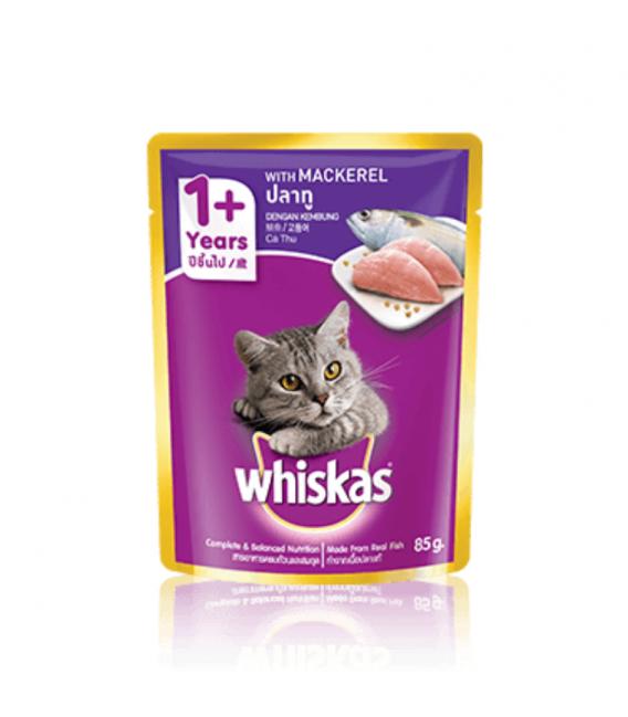 Whiskas Mackerel 85g Cat Wet Food