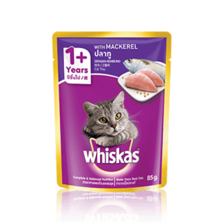 Whiskas Mackerel 85g Cat Wet Food