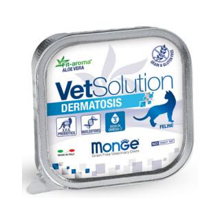 Monge Vet Solution Dermatosis 150g Cat Wet Food