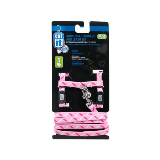 Catit Ribbon Adjustable Cat Harness and Leash