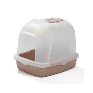 Crystal Series Covered Green Litter Pan and Scoop