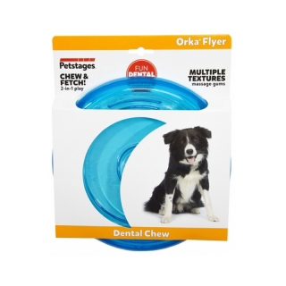 Petstages ORKA Flyer Dog Fetch Toy