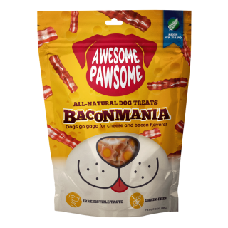 Awesome Pawsome Bacon Mania Grain Free 85g Dog Treats