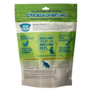Awesome Pawsome Chicken Dumpling Grain Free 85g Dog Treats