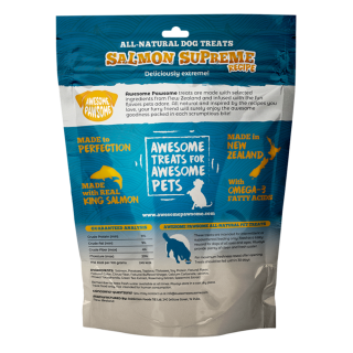 Awesome Pawsome Salmon Supreme Grain Free 85g Dog Treats