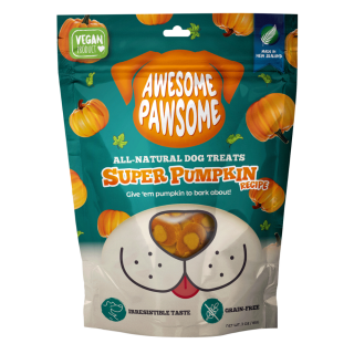 Awesome Pawsome Super Pumpkin Grain Free 85g Dog Treats
